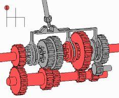 Düz vites mekanizması