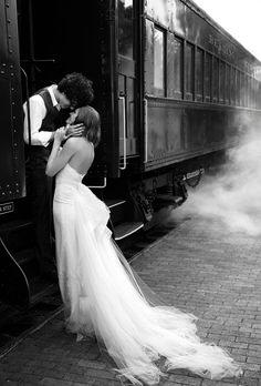 train... sooo romantic