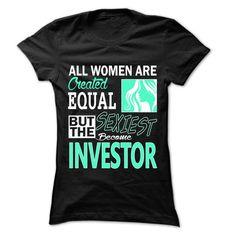All Women Sexiest Become Investor T Shirts, Hoodies, Sweatshirts. CHECK PRICE ==► https://www.sunfrog.com/LifeStyle/All-Women-Sexiest-Become-Investor--999-Cool-Job-Shirt-.html?41382