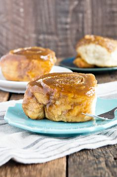 I wish these could be my breakfast every, single day! Salted Caramel Rolls Recipe http://dineanddish.net/2016/03/beginners-salted-caramel-rolls-recipe/