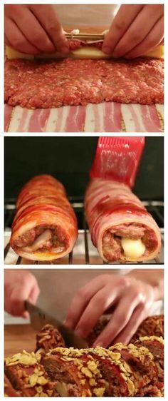 Rocambole de Bacon