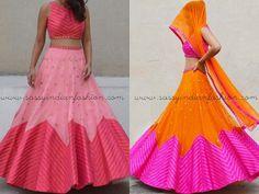 Simple Lehenga Designs for Sangeet