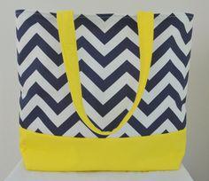 Chevron Beach Bag :3