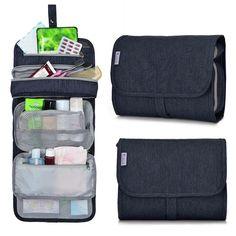a7112451460 Mardingtop Travel Toiletry Kit, Toiletry Bags,Organizer Cosmetic Bag,9.5  x2 x7.