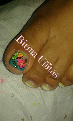 Toe Nail Art, Toe Nails, Mani Pedi, Nail Manicure, Toe Nail Designs, Pretty Designs, Pretty Toes, Beauty Nails, Summer Nails