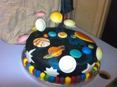 Planets cake