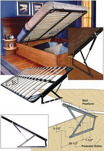 Best Diy Kit For Lift Bed Up To Heavy Double Size Diy 400 x 300