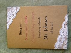 Lingerie Party Invitation... Repinning because I just went to a lingerie party. So much fun! I must have one!