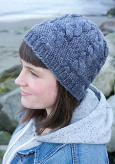 Northward Hat by Tin Can Knits