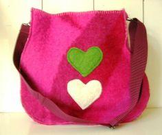 Wollen tas | Tassen | doordoorgemaakt