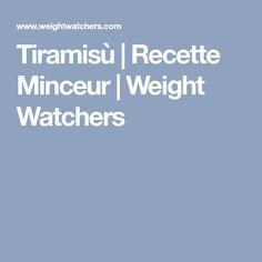 Tiramisù   Recette Minceur   Weight Watchers