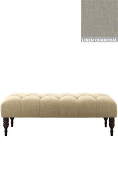 Custom Tufted Princess Bench - Benches - Entryway - Ottomans - Living Room - Bedroom Benches - Bedroom - Furniture   HomeDecorators.com