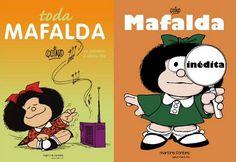 """""""Não seria maravilhoso o mundo se as bibliotecas fossem mais importantes que os bancos?"""". A frase é mais uma das várias indagações típicas da menina Mafalda, personagem desenhada pelo cartunista argentino Quino entre 1964 e 1973. Confira seleção de livros da personagem."""