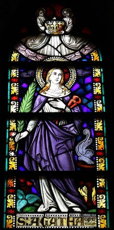 St Agatha of Siciliy | http://saintnook.com/saints/agathaofsicily/ | Elsig Kreuzauffindung5525.JPG
