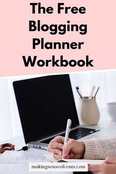 The Free Blogging Planner Workbook