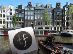 The #tripfictionpostcard pops up in AMSTERDAM - choose your next top read by where it's set and get under the skin of a place www.tripfiction.com (photo courtesy Jennifer S Alderson)
