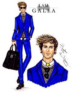 #Hayden Williams Fashion Illustrations: #Hayden Williams X Adam Galla
