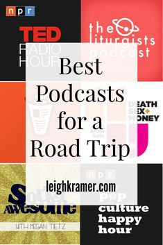 """Best Podcasts For a Road Trip (Leigh Kramer) Okay, okay, these aren't road trip songs, but they will keep you entertained! """"Best Podcasts For a Road Trip"""" Ted Talks, Podcasts Best, Just Dream, Blog Voyage, Roadtrip, Road Trippin, Self Development, Personal Development, Viajes"""