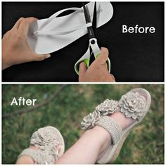 ABOUT THIS PATTERN:With the Sand Flower Sandal we've come up with an easy way for you to create durable handmade crocheted shoes that will WOW everyone and will