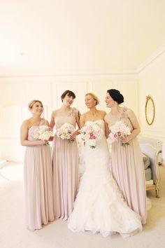 A Romantic Pastel Wedding at Eshott Hall. Image by  Helen Russell Photography.  Read more: http://bridesupnorth.com/2014/12/31/softly-stunning-vera-wang-romantic-wedding-eshott-hall-natalie-warren/