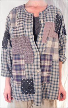 Magnolia Pearl, Cotton Swiss Alp Shirt, Flannel lininng