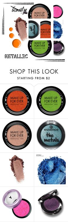 """""""Senza titolo #754"""" by flioncleo62 ❤ liked on Polyvore featuring MAKE UP FOR EVER, Urban Decay and Topshop"""