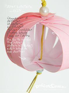 DIY Paper lantern by BohèmeCircus