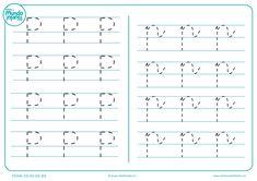 Fichas de gramotricidad con letras - Mundo Primaria Sheet Music, Education, Literacy Activities, Preschool Alphabet Activities, Preschool Writing, Montessori Activities, Infant Learning Activities, Onderwijs, Learning