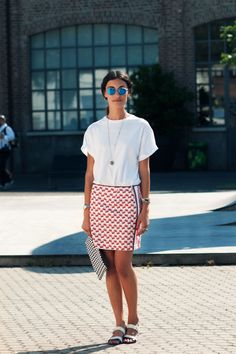 Giulia Tordini - Kyme sunglasses, Missoni skirt, Proenza Schouler clutch, Prada sandals - pic by Jason Jean - citizencouture.com
