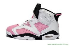 AIR JORDAN 6 RETRO Branco/Rosa
