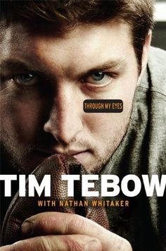 Tim Tebow is one of the most accomplished players in college football history. He is the founder of the Tim Tebow Foundation which was started to bring faith, hope, and. Through My Eyes by Tim Tebow. Tim Tebow, Florida Gators, But Football, College Football, Baseball, Football Season, Books To Read, My Books, Music Books