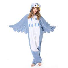 Fab.com   Owl Kigurumi costume- super silly & cute!