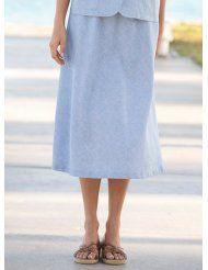 Linenweave Skirt
