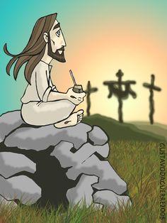 __________Tomamos mate????? - EL RINCON DE LOS AMIGOS DE JESUS - Gabitos