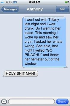 This is so wrong but I cried laughing so hard!