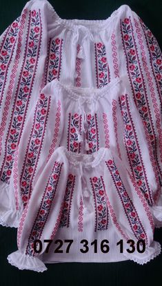 Cross Stitch Charts, Cross Stitch Patterns, Romanian Girls, Palestinian Embroidery, Smocking, Bridal Dresses, Hand Embroidery, Designer Dresses, Costumes