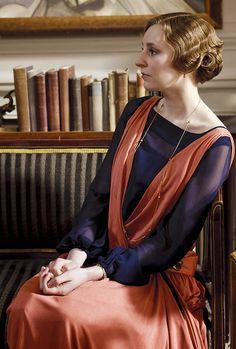 Laura Carmichael as Lady Edith Crawley in Downton Abbey (TV Series 2013)