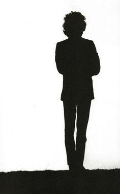 "doraemonmon: ""Bob Dylan silhouette """