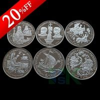 Russian 500 YEARS 1988-1991 replica CCCP 150 RUBLES 6 pieces a set