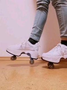 Roller Skate Shoes, Quad Roller Skates, Roller Skating, Cute Shoes, Me Too Shoes, Unique Shoes, Skate Man, Cool Gadgets To Buy, Cool Inventions