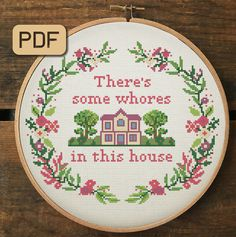 Funny Embroidery, Embroidery Hoop Art, Cross Stitch Embroidery, Embroidery Patterns, Needlepoint Patterns, Loom Patterns, Funny Needlepoint, Simple Embroidery, Embroidery Fabric