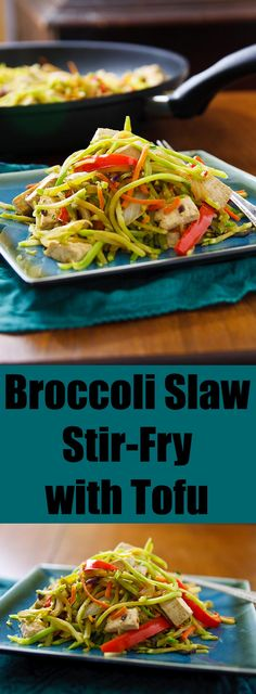 Packaged broccoli slaw makes a quick and easy stir-fry and, with the ...