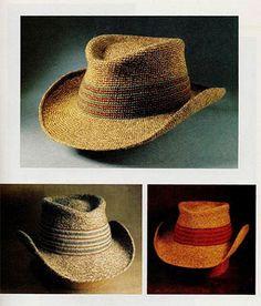 Ковбойская шляпа. Вязание крючком - Головные уборы - Вязание крючком -МАСТЕР-КЛАССЫ ПО РУКОДЕЛИЮ- Страна рукоделия
