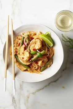 Red Curry Shrimp and Noodles - GoodHousekeeping.com