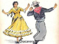 Folklore argentino - Estilos de danza