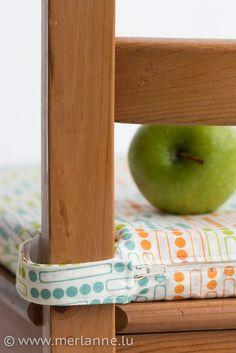 Diese Bezüge passen zu den Ikea-Stuhlkissen Justina und Majvor. Den zughörigen Blogpost könnt Ihr hier nachlesen: Unsere neuen Küchenstars. Material für 4 Stuhlkissen: ca. 2 m Baumwollstoff ca. 1 m…