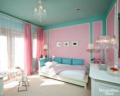 Tiffany Blue Teen Girls Bedrooms -- Design Dazzle