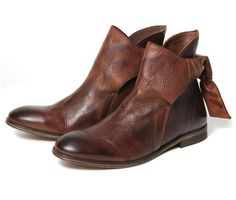 Etty Brown (£155.00) - Hudson brings you Etty a beautiful leather ladies ankle boot. Produced in a skillfully dip dyed brown calf leather ev...