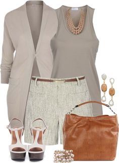 """Dressing Up Neutrals!"" by tammylo-12 on Polyvore"