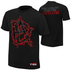 Dean Ambrose THIS LUNATIC RUNS THE ASYLUM Black WWE Authentic T-Shirt OFFICIAL - http://bestsellerlist.co.uk/dean-ambrose-this-lunatic-runs-the-asylum-black-wwe-authentic-t-shirt-official/
